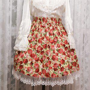 Atelier Yan - Garden Rose Skirt - Green
